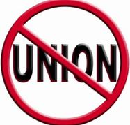 Image result for no union