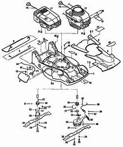 34 Parts Diagram For Troy Bilt Lawn Mower