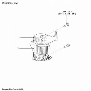 Hyundai Santa Fe  Brake Booster  Components And Components