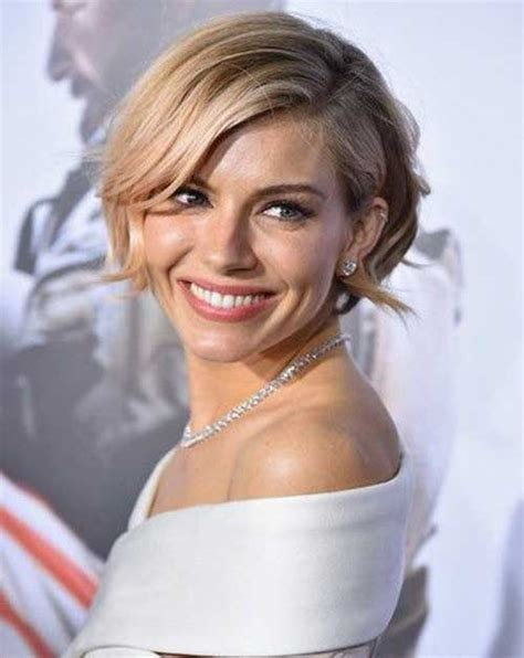 sienna miller bob hair bob hairstyles  short