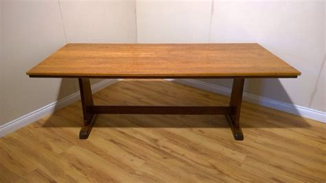arts and crafts dining table oak arts crafts dining table c1930 329207