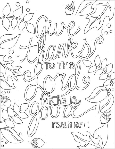 Give Thanks To The Lord Bible Verse Coloring Page 206 Best Images About Scripture Coloring Pages On