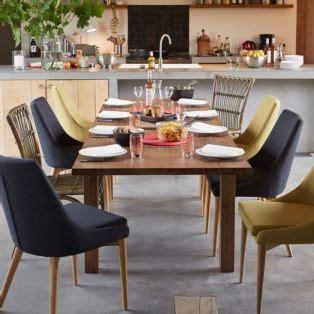 chaise en h 233 v 233 a et fr 234 ne vert esprit scandinave vert abby chaises tables et chaises