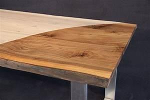 Tischplatte Massivholz Baumkante : tischplatte mit baumkante massivholz kaukasischer nussbaum a b mit splint dl 40 2000 1000 ~ Indierocktalk.com Haus und Dekorationen