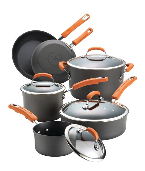 ray rachael cookware anodized hard nonstick