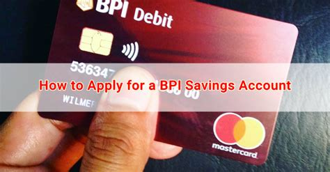 Bpi ayala malls amore platinum card 3% rebate for every ₱1,000.00 spent at partner merchants in ayala malls, maximum of ₱15,000.00 rebates per calendar year. How to Apply for a BPI Savings Account | Japan OFW