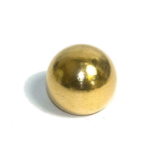 solid brass 3 4 ball finial 10mm thread