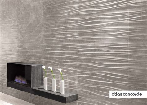 #MARVELPRO grey fleury ribbon   #AtlasConcorde   #Tiles