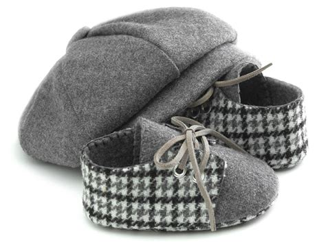 Newbron Baby Shoes : Baby Boy Hat And Shoes Set Newsboy Wool Baby Hats. Ring
