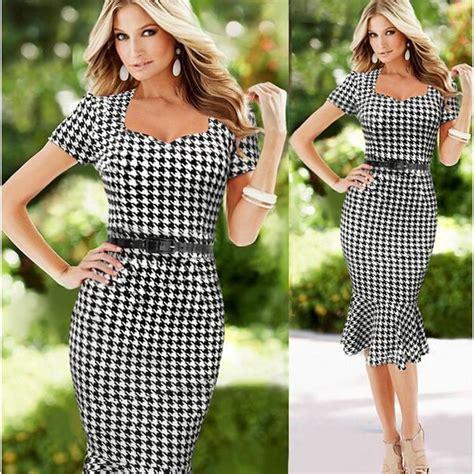 modele de robe de bureau robe treillis femme vetement dame de bureau achat
