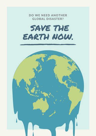 customize  global warming poster templates  canva