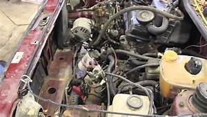 Mk1 Rabbit Pickup  Caddy  Diesel Engine Removal For Aaz