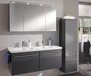 Badmöbel Mit Doppelwaschbecken : doppelwaschbecken mit unterschrank und spiegelschrank neuesten design ~ Indierocktalk.com Haus und Dekorationen