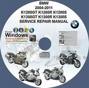Bmw K1200gt K1200r K1200s K1300gt K1300r K1300s Service Repair Manual On Dvd 2004