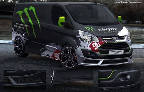 auto tuning teile ford transit custom frontstange heck sto 223 stange