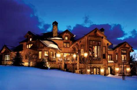 Luxury Log Homes Exterior Owners Home Bestofhousenet