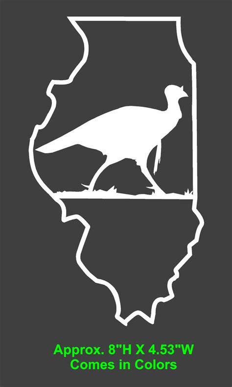 turkey hunting window sticker decal corn hole game