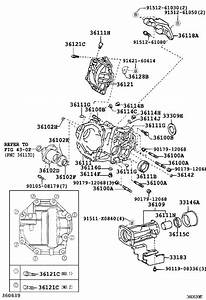 2004 Toyota Highlander Case  Transfer  Driveline
