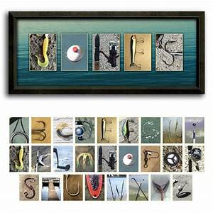 bass fishing letter art name print see what your name With fishing letter art