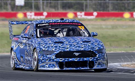 mustang signed    shell  power racing team