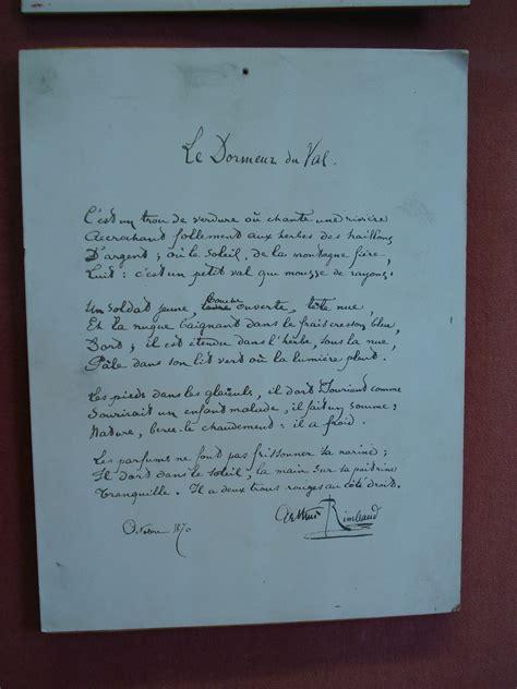 Le Dormeur Du Val Rimbaud Texte by Le Dormeur Du Val Wikip 233 Dia