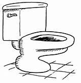 Bathroom Coloring Toilet Toilette Dibujos Colorear Water Inodoros Kleurplaten Pintar Supercoloring Ausmalbild Gratis Kleurplaat Inodoro Sketch Dibujar Cabinet Badkamer Relampago sketch template