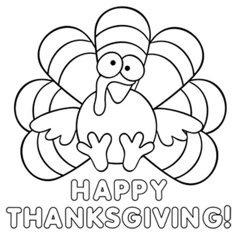 thanksgiving coloring pages  preschoolers xv