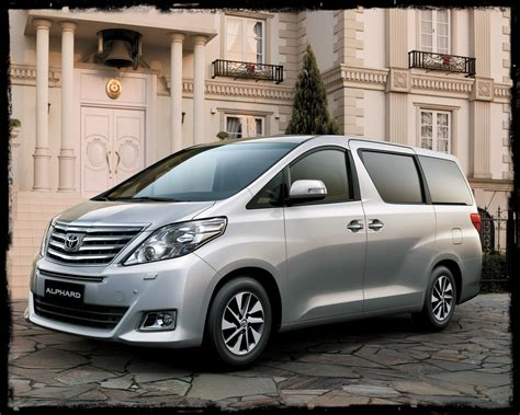 Toyota Alphard Hd Picture by 2016 Toyota Alphard Pictures Information And Specs