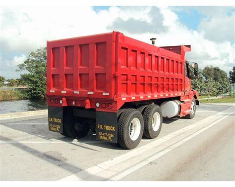 used volvo heavy duty trucks sale 2000 volvo vnm64200 heavy duty dump truck for sale miami