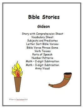 gideon bible story  terris teachables teachers pay