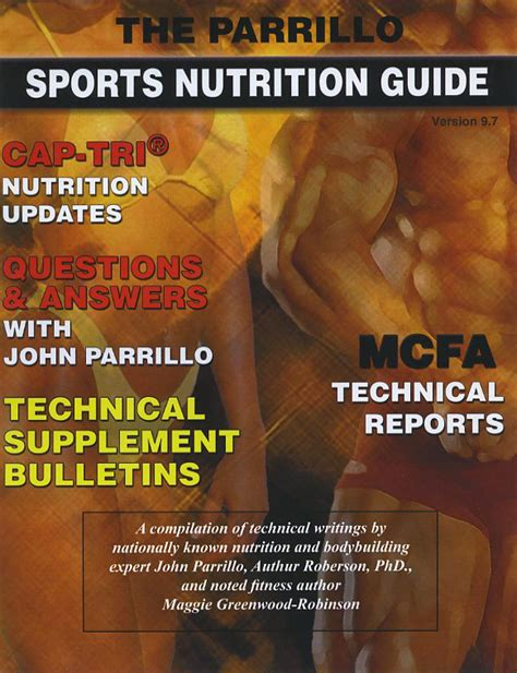 parrillo sports nutrition guide   disc parrillo