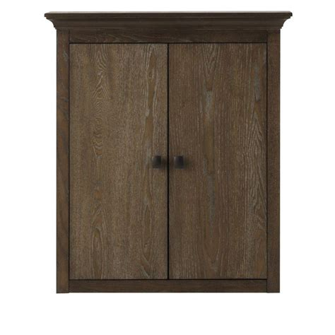 Home Depot Oak Bathroom Cabinet by Home Decorators Collection Brisbane 24 In W X 27 In H X