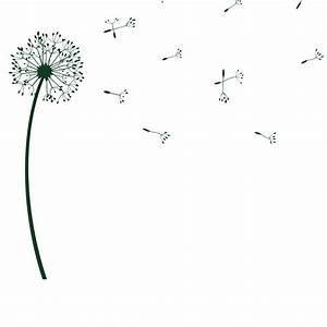 wandtattoo pusteblume originelle pusteblumen dekoration von designscape ebay