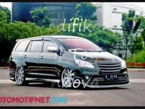 modifikasi mobil toyota innova youtube