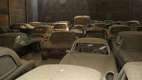 Cars Found In Barn by Abandoned Warehouse Of Cars Found In Italy