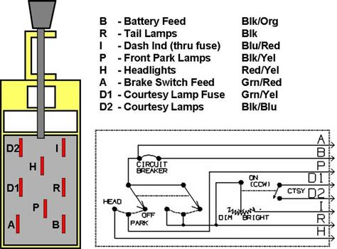 Wiring Headlight Switch Mustang Forums Stangnet