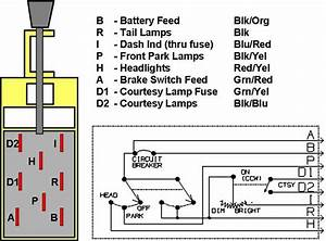 1956 Ford Headlight Switch Wiring Diagram