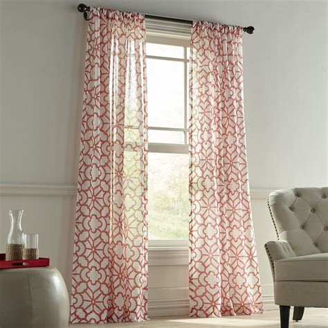 coral patterned curtains best 25 coral curtains ideas on coral