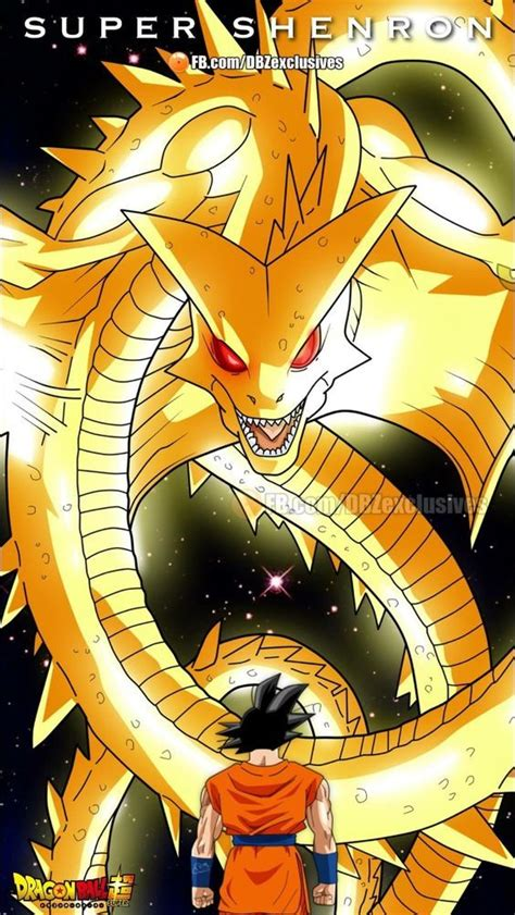 goku  super shenron dragon ball art dragon ball
