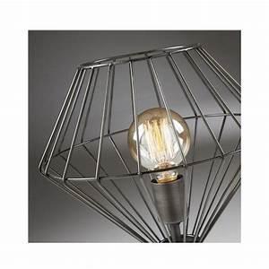 Lampe A Poser : lampe cage poser en m tal noir cabana par ~ Nature-et-papiers.com Idées de Décoration