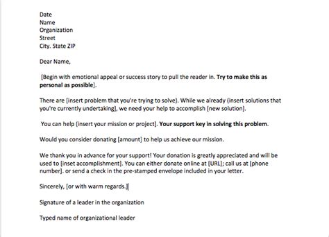 sample sponsorship request letter top form templates