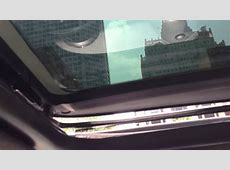 2007 R56 MINI Cooper Sunroof Problem YouTube