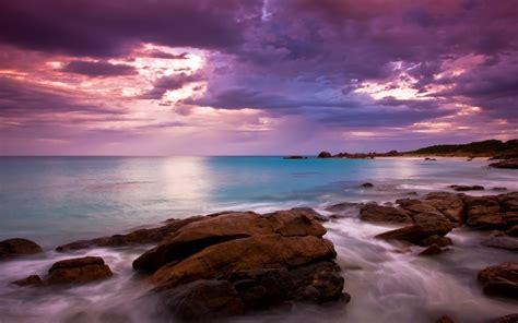 Beach Australia Meelup Beach Landscape Wallpapers Hd