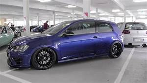 Vw Golf 7 R Tuning : vw volkswagen golf r 2 0 tsi 4motion turbo tuning blue o z ~ Jslefanu.com Haus und Dekorationen