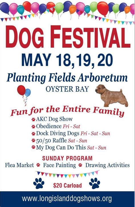 long island dog festival planting fields