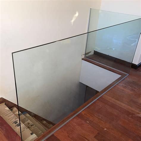 bathtub wall glass railing in york jersey luxuryglassny