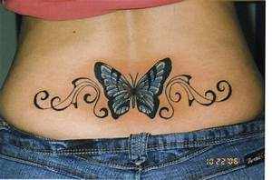 popular tattoos in the world: tattoos for girls on lower back