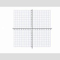 Blank Coordinate Grid By Missgibson310  Teachers Pay Teachers