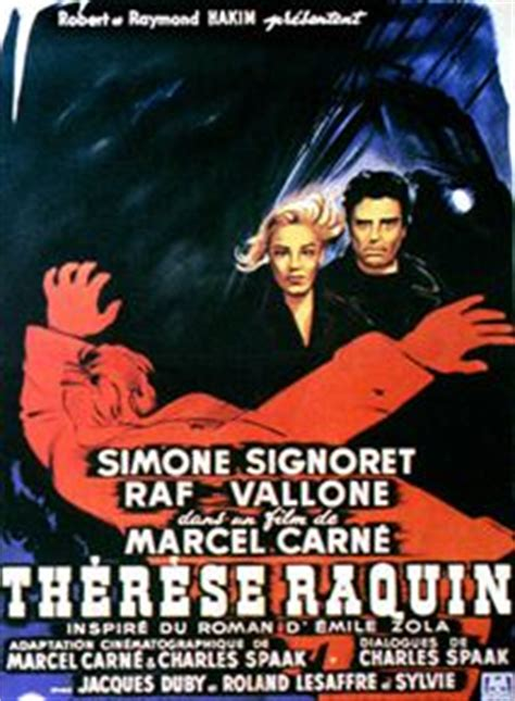 Therese Raquin Resume Complet by Th 233 R 232 Se Raquin 1953 Allocin 233
