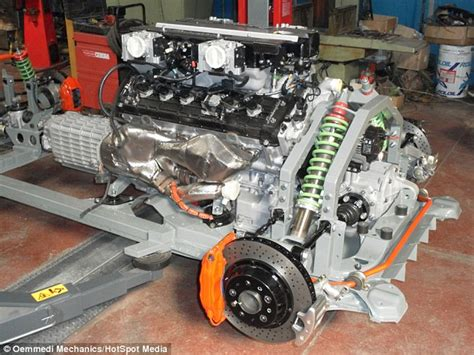 how does a cars engine work 1995 lamborghini diablo parking system fiat transformed into 186mph supercar thanks to lamborghini engine daily mail online